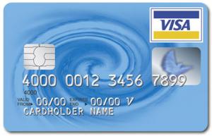 Visum met creditcard